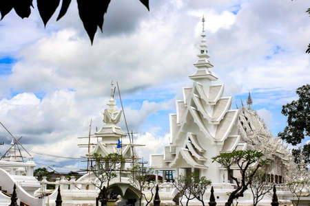 Wat Rongkhun at Chiangrai Stock Photo