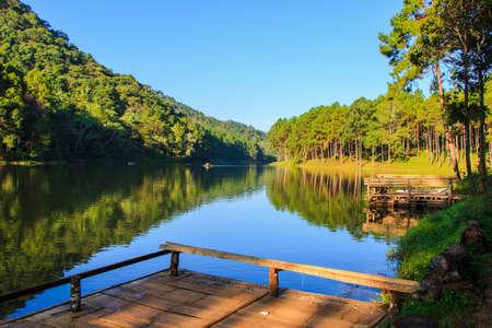 Lake of PangOung at Maehongsorn