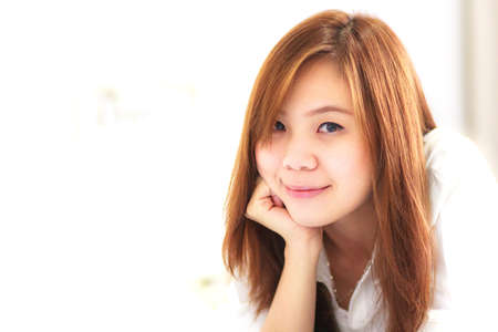 Woman with beauty smile