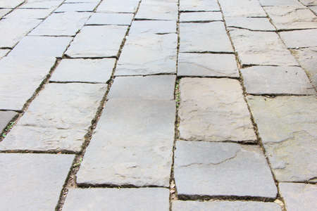 Path way made from stone