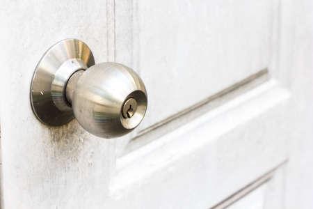 detailed shot of metal doorknob Stock Photo - 17583234
