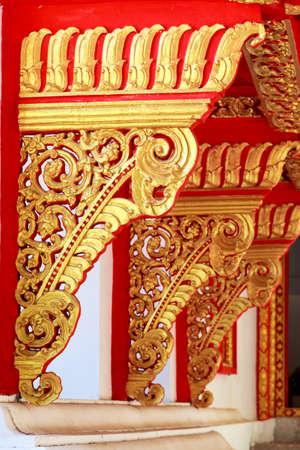 lai thai in the temple
