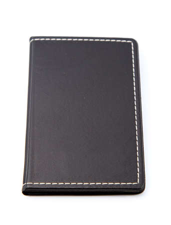Black Notebook isolated on white backgrounds