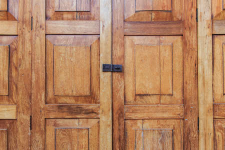 Detail from and old wooden door, close up Stock Photo - 17852823