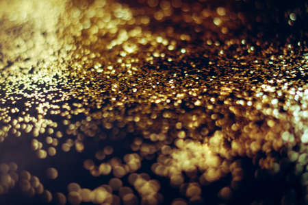 Festive background with golden effect. Bright new year concept. Stock fotó