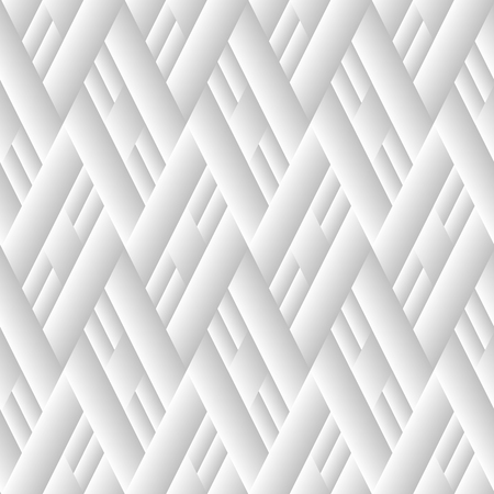 Seamless monochrome geometric pattern. Black and white vector background Illustration