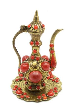Tea-pot figurine