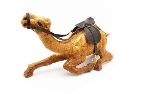 Wooden camel. A souvenir from Tunisia.