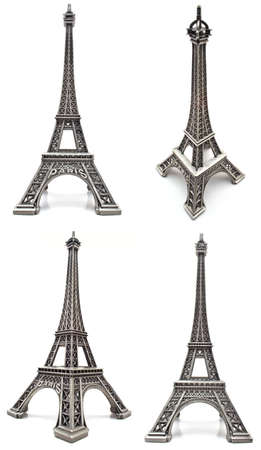 Eiffel tower figurine, a souvenir from Paris photo
