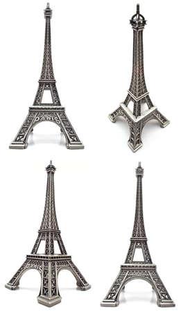 Eiffel tower figurine, a souvenir from Paris