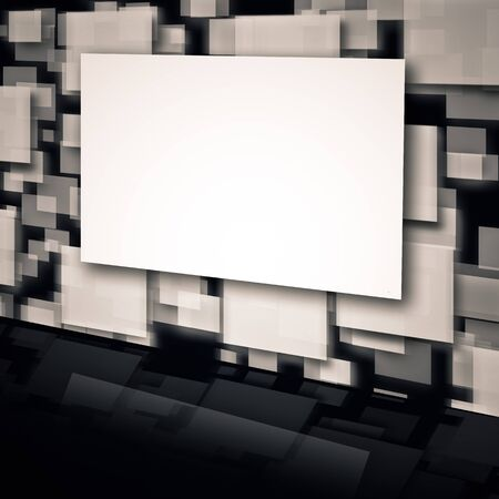 An image of a moving picture wall with the place for text or image Stock Photo