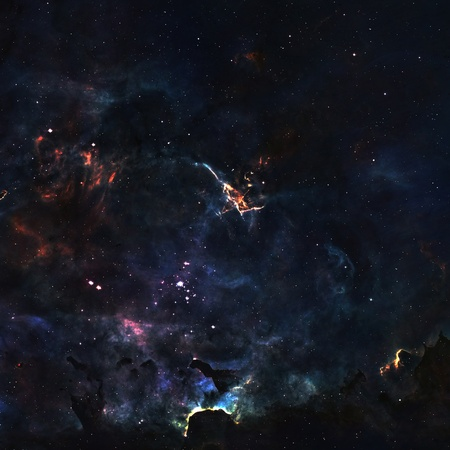 Star field in  deep space many light years far from the Earth Stock Photo - 18143846