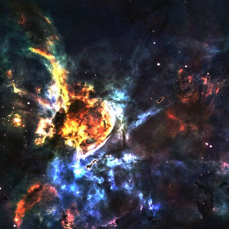Star field in  deep space many light years far from the Earth Stock Photo - 18144003
