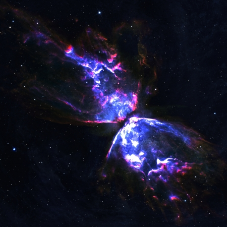 Star field in  deep space many light years far from the Earth Stock Photo - 18143873