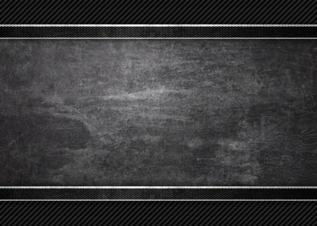 Černé pozadí grunge metal textury textury Reklamní fotografie