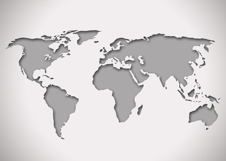 continental: Image of a world map