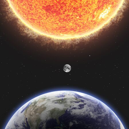 greenhouse effect: Earth and Sun