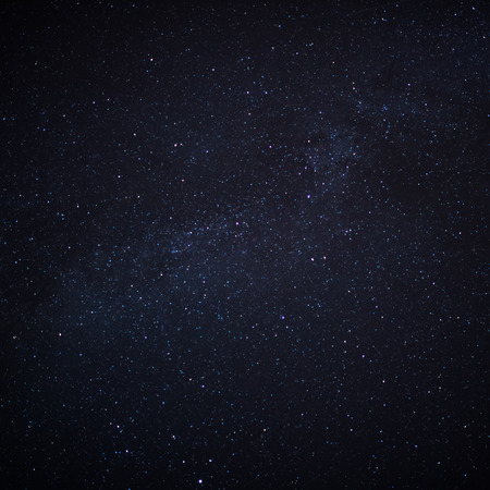 Star field in  deep space many light years far from the Earth.  写真素材