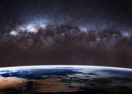 sonne mond und sterne: Hochwertige Erde Bild.