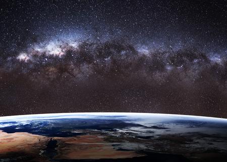 Vysoká kvalita obrazu Země. Reklamní fotografie - 44450007