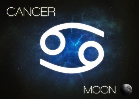 zodiac sign: Zodiac sign - Cancer Stock Photo