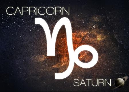 Segno zodiacale - Capricorno Archivio Fotografico - 44449955