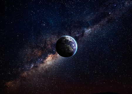beeldkwaliteit Earth Hight. Stockfoto