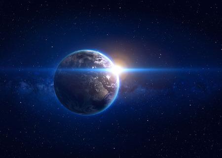Vysoká kvalita Země obrazu. Reklamní fotografie