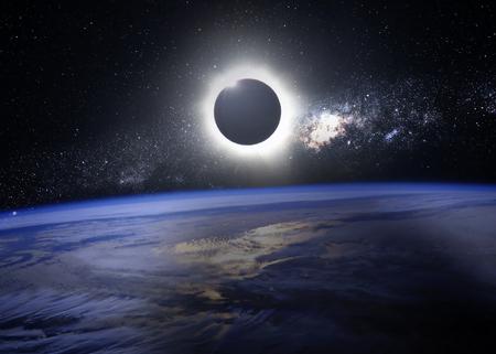 trek: Eclipse of the sun.