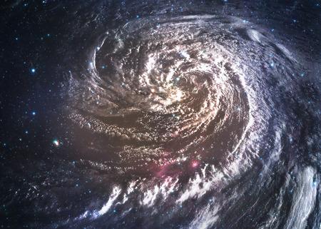 kosmos: Unglaublich schöne Spiralgalaxie irgendwo im Weltraum. Lizenzfreie Bilder