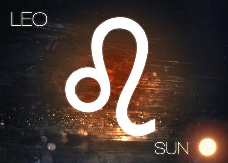 星座 - レオ 写真素材