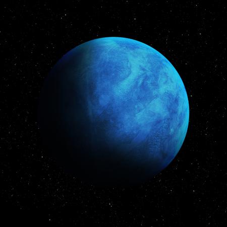 neptuno: Alta calidad de imagen de Neptuno. Foto de archivo