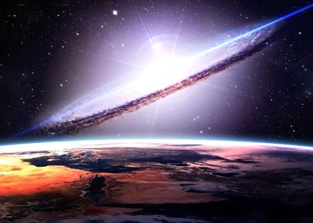 galaxie: Unglaublich schöne Raum.