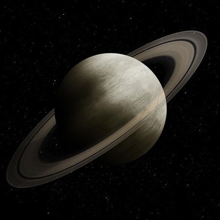 Hight beeldkwaliteit Saturnus.