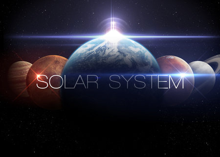 astrology: Solar System.