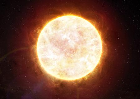 Sluneční soustava - Sun. Reklamní fotografie