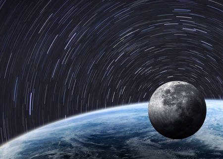orbits: High quality Earth image.