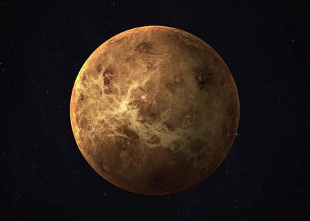 venus: Colorful picture represents Venus.
