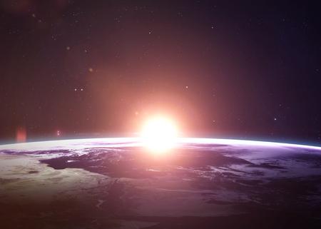 그들은 모두 아름다움을 보여주는 우주에서 지구. 매우 항공 우주국 (NASA)이 제공 한 요소를 포함 이미지를 자세히 설명합니다. 다른 방향 가능한 행성. 스톡 콘텐츠