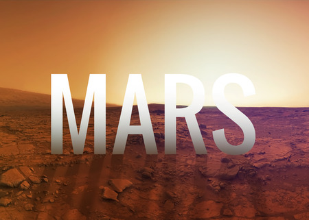 the  of the surface: Mars surface.