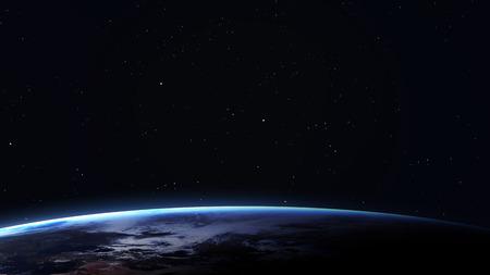 Imagen de resolución 5K de la Tierra en el espacio.