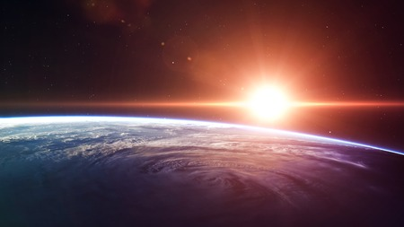 astronaut space: High quality Earth image.