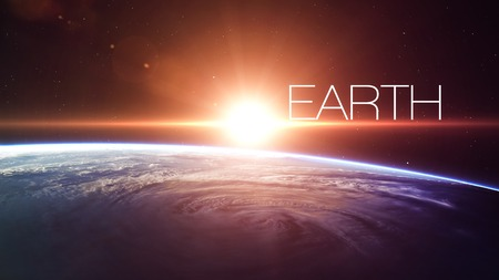 earth space: High quality Earth image.