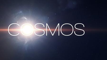 kosmos: Sunflafe schönen Hintergrund im Weltraum.
