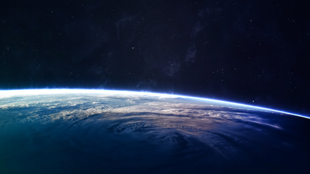 night view: High quality Earth image.