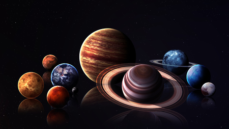 hight: Hight quality solar system planets.