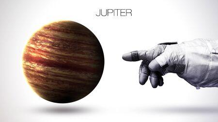 jupiter light: Jupiter - High resolution best quality solar system planet. All the planets available.
