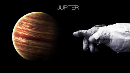 earth space: Jupiter - High resolution best quality solar system planet. All the planets available.