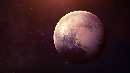 pluto: Pluto - High resolution best quality solar system planet. All the planets available. This image elements furnished by NASA.