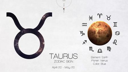 cancer crab: Zodiac sign - Taurus. Cool astrologic infographics.